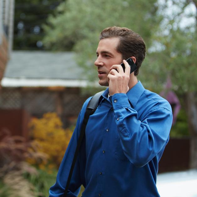 Man on call
