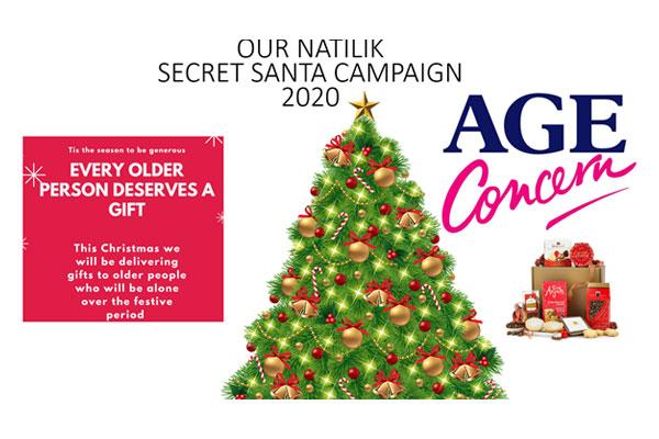 Age Concern Secret Santa 2020 banner